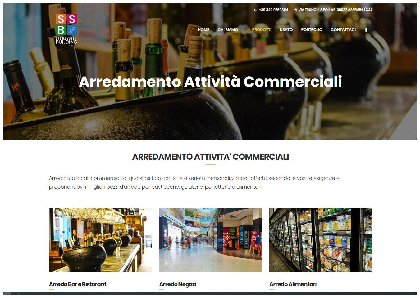 Negozi Mobili Cagliari E Provincia steelsystem building | allestimento negozi e arredamento